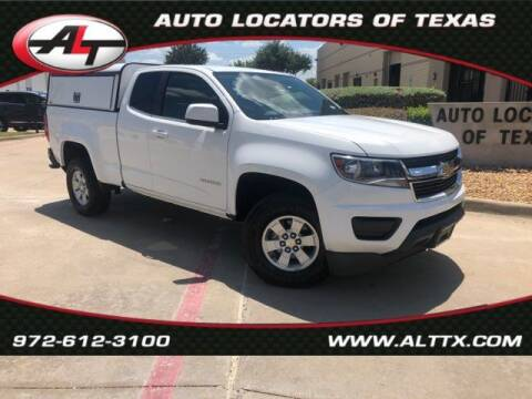 2015 Chevrolet Colorado for sale at AUTO LOCATORS OF TEXAS in Plano TX