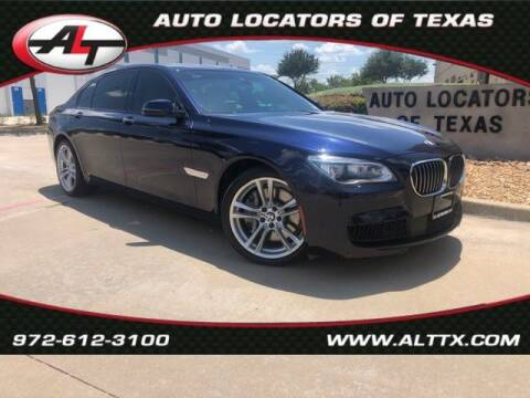 2015 BMW 7 Series for sale at AUTO LOCATORS OF TEXAS in Plano TX