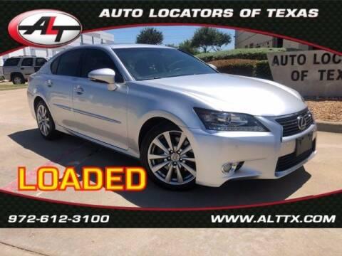 2013 Lexus GS 350 for sale at AUTO LOCATORS OF TEXAS in Plano TX