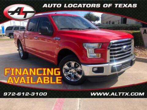 2016 Ford F-150 for sale at AUTO LOCATORS OF TEXAS in Plano TX