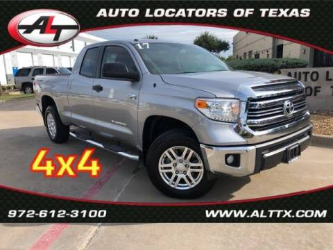 2017 Toyota Tundra for sale at AUTO LOCATORS OF TEXAS in Plano TX
