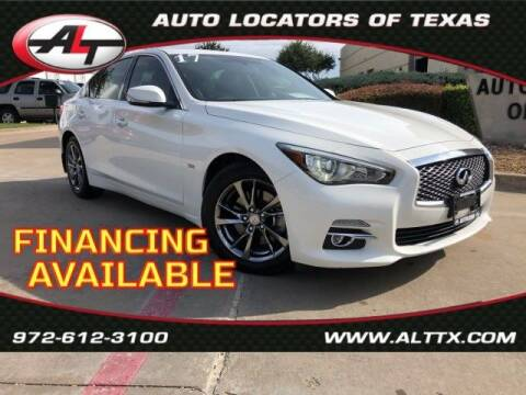 2017 Infiniti Q50 for sale at AUTO LOCATORS OF TEXAS in Plano TX