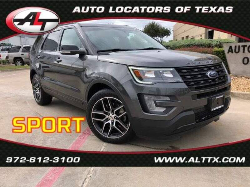 2017 Ford Explorer for sale at AUTO LOCATORS OF TEXAS in Plano TX