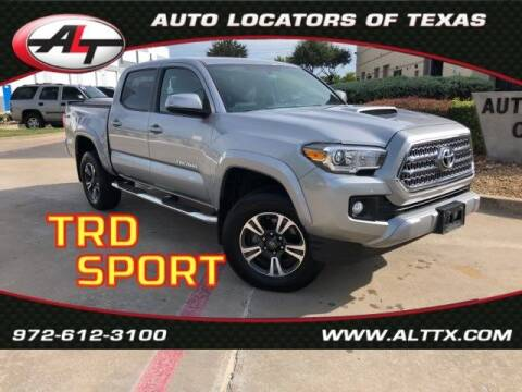 2016 Toyota Tacoma for sale at AUTO LOCATORS OF TEXAS in Plano TX