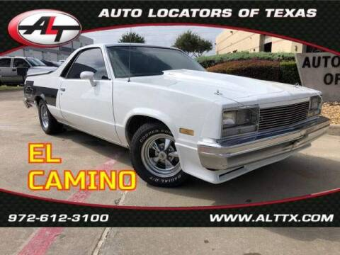 1983 Chevrolet El Camino for sale at AUTO LOCATORS OF TEXAS in Plano TX