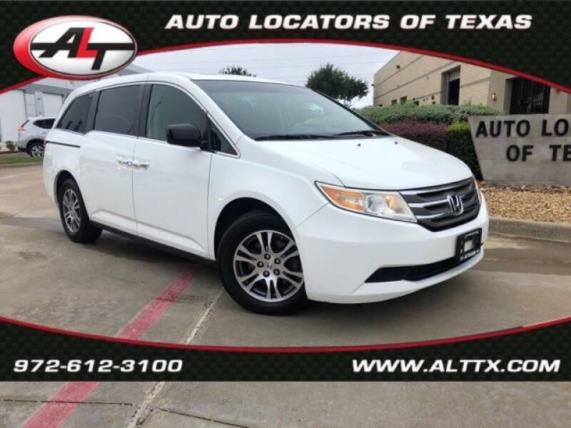 2011 Honda Odyssey for sale at AUTO LOCATORS OF TEXAS in Plano TX