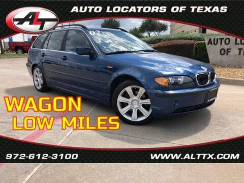 2002 BMW 3 Series for sale at AUTO LOCATORS OF TEXAS in Plano TX