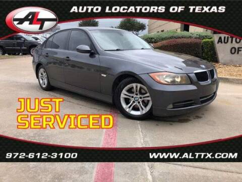 2008 BMW 3 Series for sale at AUTO LOCATORS OF TEXAS in Plano TX