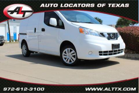 2017 Nissan NV200 for sale at AUTO LOCATORS OF TEXAS in Plano TX