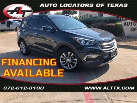 2017 Hyundai Santa Fe Sport for sale at AUTO LOCATORS OF TEXAS in Plano TX