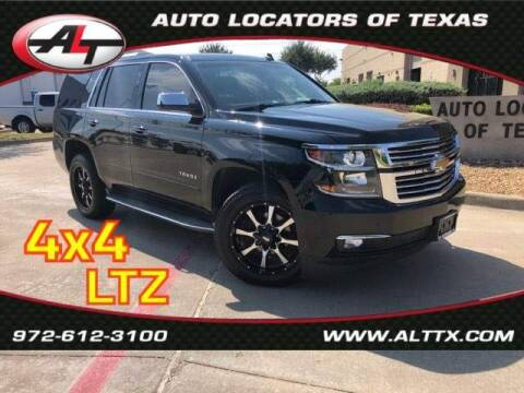 2015 Chevrolet Tahoe for sale at AUTO LOCATORS OF TEXAS in Plano TX
