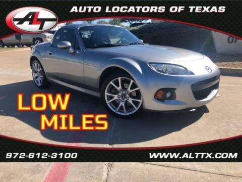 2014 Mazda MX-5 Miata for sale at AUTO LOCATORS OF TEXAS in Plano TX