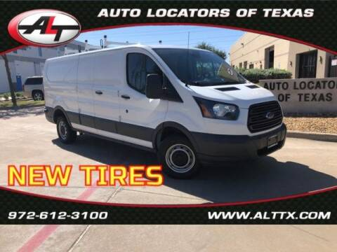2017 Ford Transit Cargo for sale at AUTO LOCATORS OF TEXAS in Plano TX