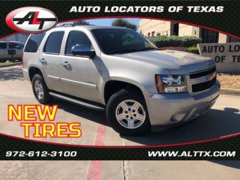 2008 Chevrolet Tahoe for sale at AUTO LOCATORS OF TEXAS in Plano TX
