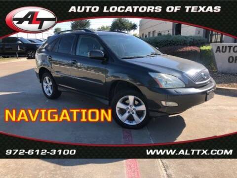 2004 Lexus RX 330 for sale at AUTO LOCATORS OF TEXAS in Plano TX