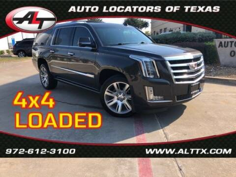 2017 Cadillac Escalade ESV for sale at AUTO LOCATORS OF TEXAS in Plano TX