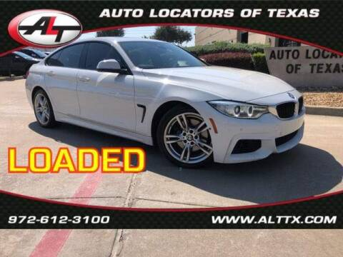 2015 BMW 4 Series for sale at AUTO LOCATORS OF TEXAS in Plano TX