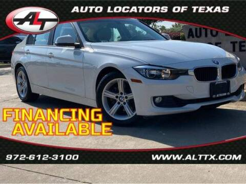2015 BMW 3 Series for sale at AUTO LOCATORS OF TEXAS in Plano TX