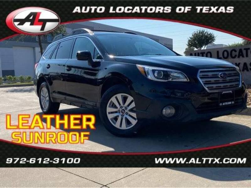 2017 Subaru Outback for sale at AUTO LOCATORS OF TEXAS in Plano TX