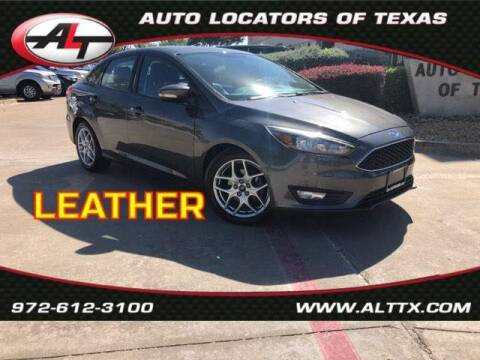 2015 Ford Focus for sale at AUTO LOCATORS OF TEXAS in Plano TX