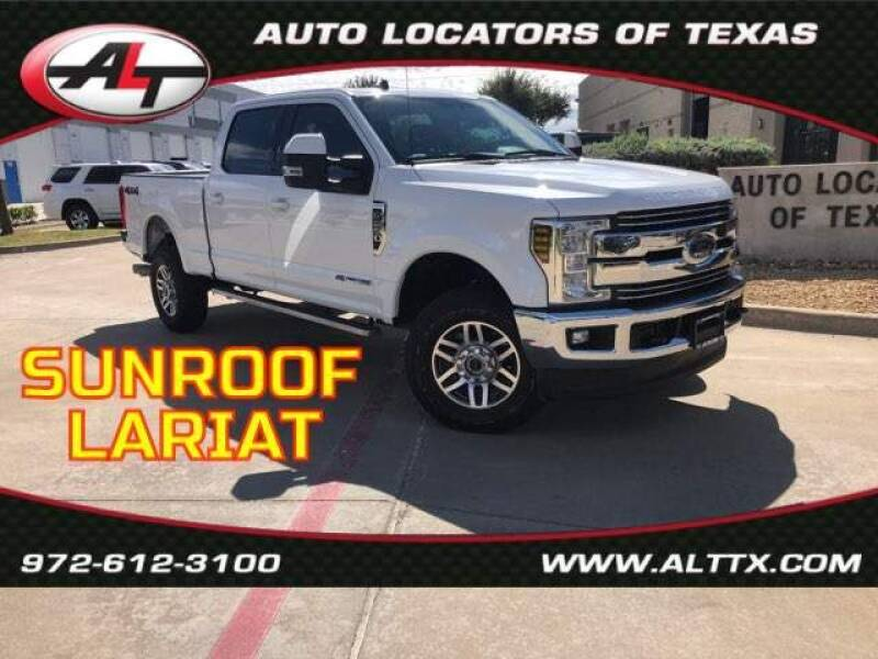 2019 Ford F-250 Super Duty for sale at AUTO LOCATORS OF TEXAS in Plano TX