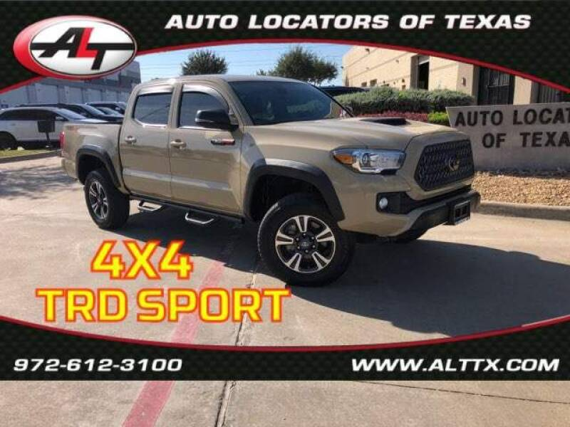 2019 Toyota Tacoma for sale at AUTO LOCATORS OF TEXAS in Plano TX
