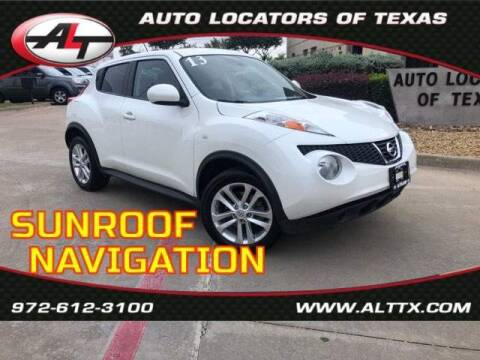 2013 Nissan JUKE for sale at AUTO LOCATORS OF TEXAS in Plano TX