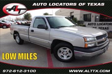 2005 Chevrolet Silverado 1500 for sale in Plano, TX