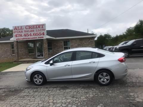 2018 Chevrolet Cruze for sale in Milledgeville, GA