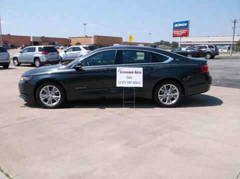 2015 Chevrolet Impala for sale at EFFINGHAM AUTO in Effingham IL
