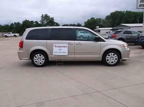 2014 Dodge Grand Caravan for sale at EFFINGHAM AUTO in Effingham IL