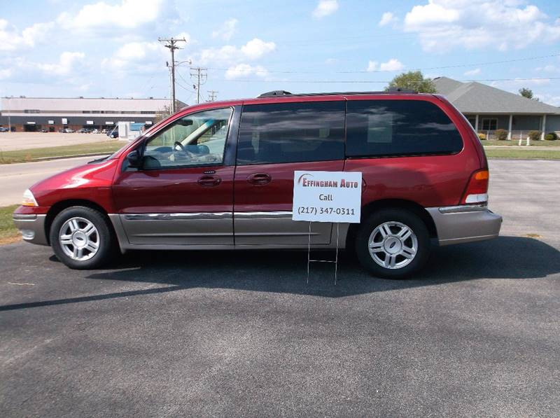 2002 Ford Windstar for sale at EFFINGHAM AUTO in Effingham IL
