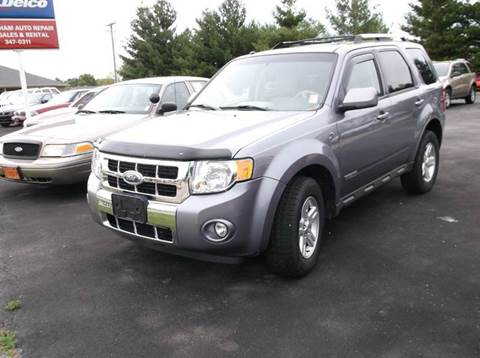 2008 Ford Escape Hybrid for sale at EFFINGHAM AUTO in Effingham IL