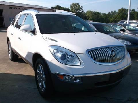 2008 Buick Enclave for sale at EFFINGHAM AUTO in Effingham IL