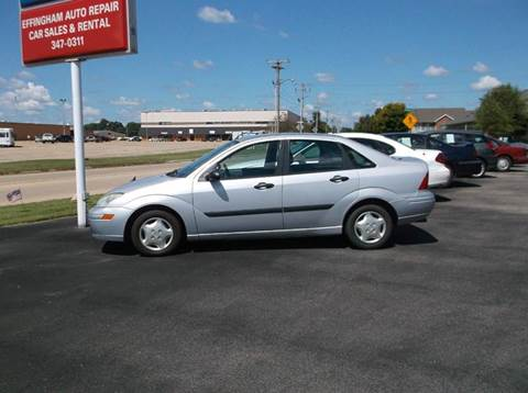 2001 Ford Focus for sale at EFFINGHAM AUTO in Effingham IL