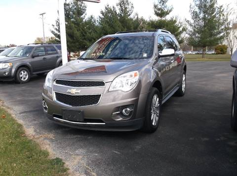 2010 Chevrolet Equinox for sale at EFFINGHAM AUTO in Effingham IL