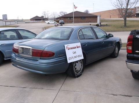 2000 Buick LeSabre for sale at EFFINGHAM AUTO in Effingham IL