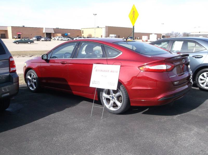 2014 Ford Fusion for sale at EFFINGHAM AUTO in Effingham IL