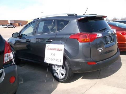 2013 Toyota RAV4 for sale at EFFINGHAM AUTO in Effingham IL