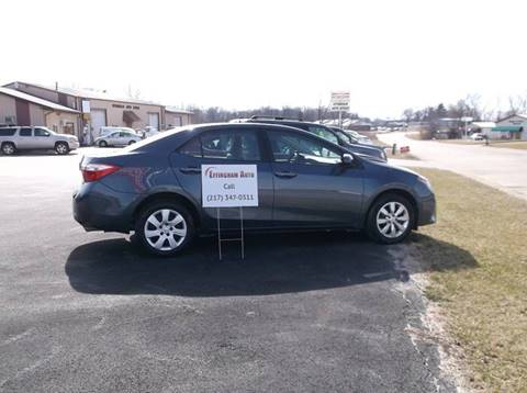 2014 Toyota Corolla for sale at EFFINGHAM AUTO in Effingham IL