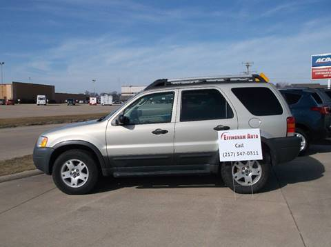 2004 Ford Escape for sale at EFFINGHAM AUTO in Effingham IL