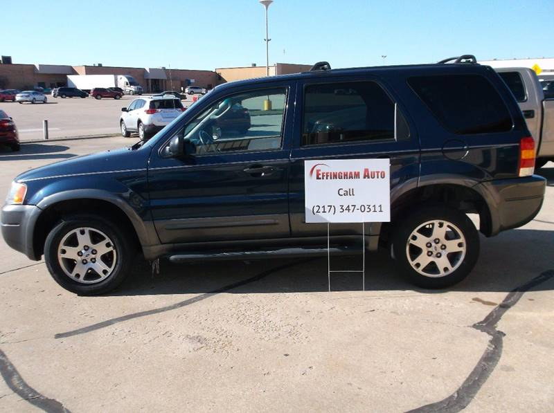 2003 Ford Escape for sale at EFFINGHAM AUTO in Effingham IL
