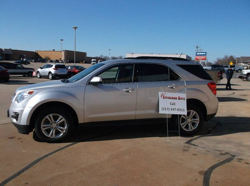 2015 Chevrolet Equinox for sale at EFFINGHAM AUTO in Effingham IL