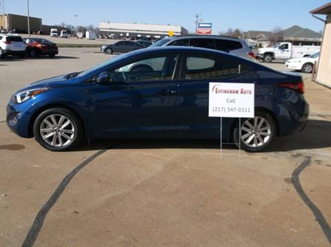 2015 Hyundai Elantra for sale at EFFINGHAM AUTO in Effingham IL