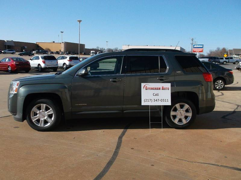 2013 GMC Terrain for sale at EFFINGHAM AUTO in Effingham IL