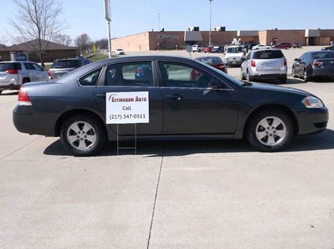 2011 Chevrolet Impala for sale at EFFINGHAM AUTO in Effingham IL