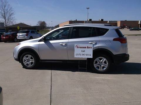 2015 Toyota RAV4 for sale at EFFINGHAM AUTO in Effingham IL