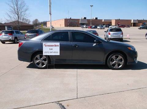 2014 Toyota Camry for sale at EFFINGHAM AUTO in Effingham IL