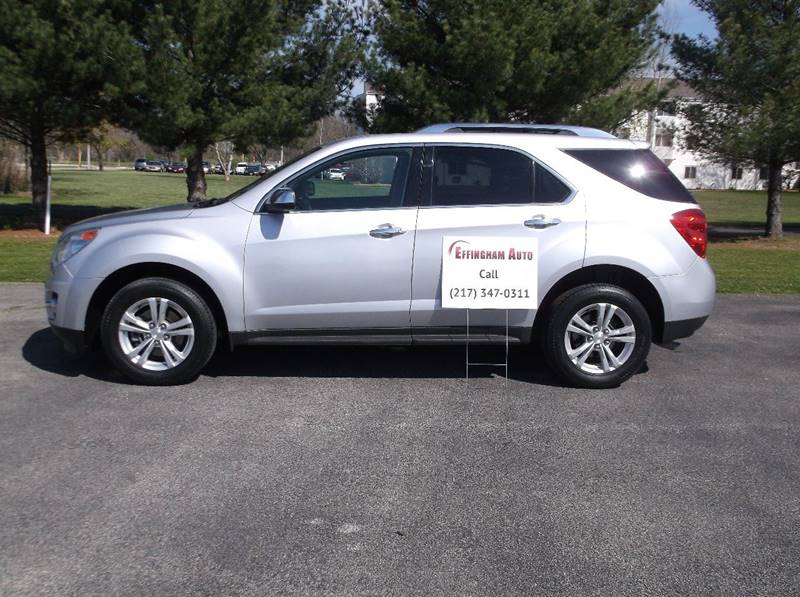 2013 Chevrolet Equinox for sale at EFFINGHAM AUTO in Effingham IL
