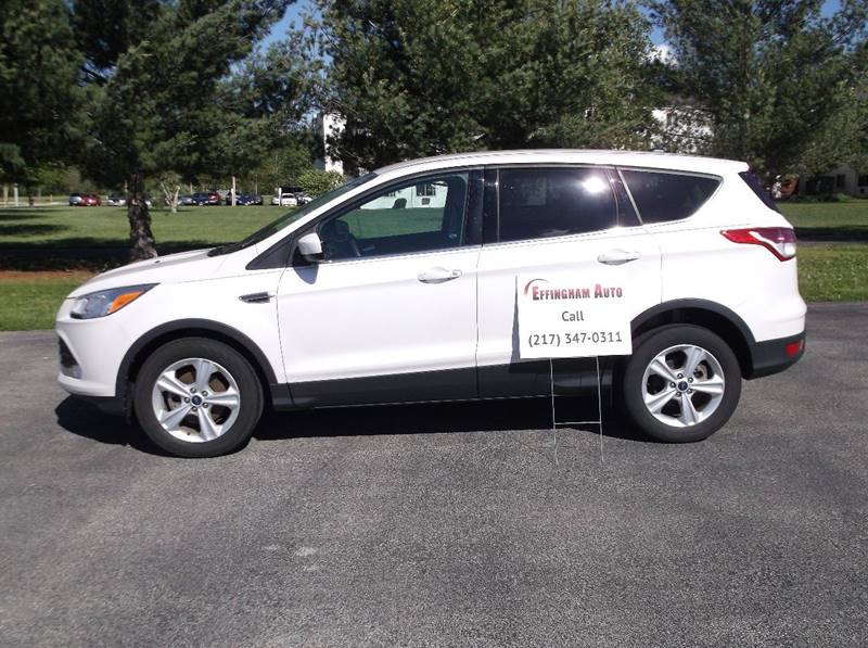 2014 Ford Escape for sale at EFFINGHAM AUTO in Effingham IL